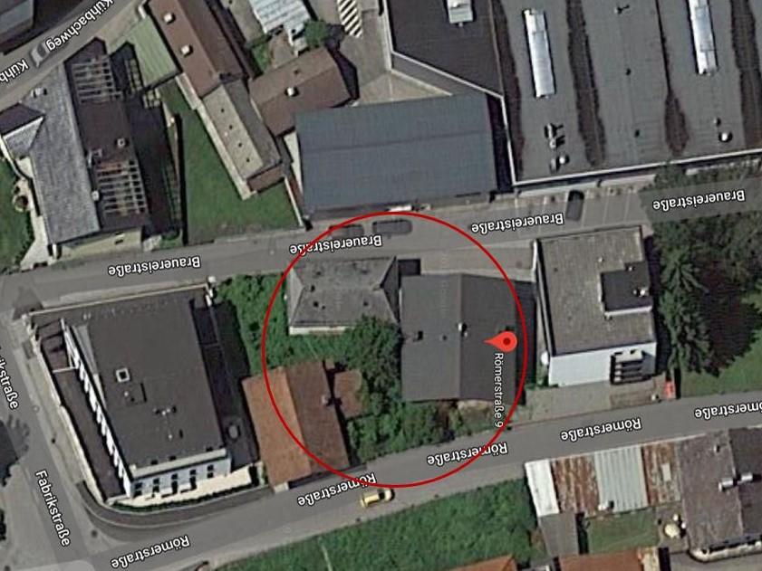Lageplan - Gesamtareal / ca. 809 m²